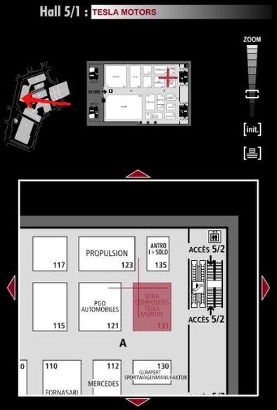 Guide des stands : Tesla - Hall 5/1
