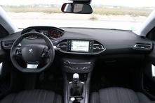 Peugeot 308 SW : en avant-première, les photos de l'essai