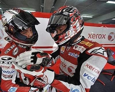 Superbike - Imola M.2: A Fabrizio la victoire, à Haga la tête du championnat