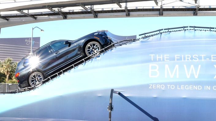 Premier test à bord du BMW X7 - Vidéo en direct du salon de Las Vegas