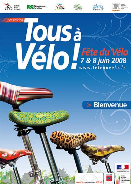 La Fête du Vélo programmée les 7 et 8 juin 2008 en France