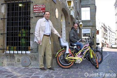 Hôtel Elizabeth/Saint-Malo : une journée de location de vélo offerte sur présentation de votre billet de train !