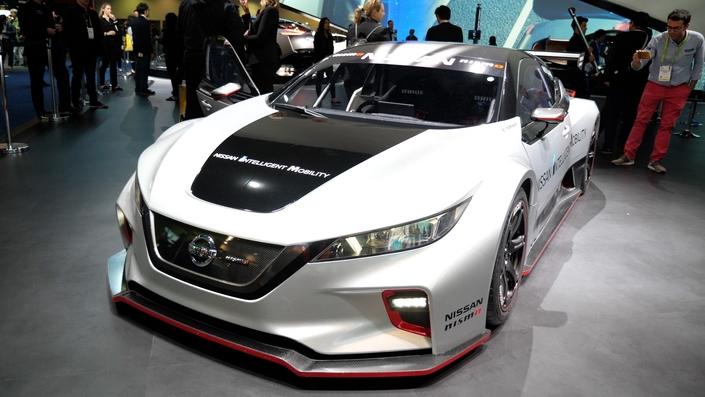 Nissan Leaf RC Nismo : survoltée ! - Vidéo en direct du salon de Las Vegas