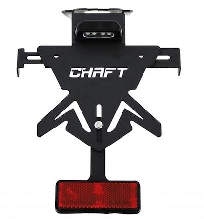 Chaft: support de plaque homologué pour Yamaha MT 09