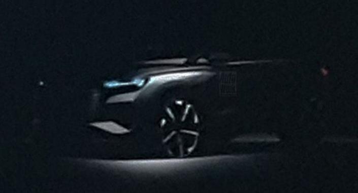 Concept du futur SUV compact électrique