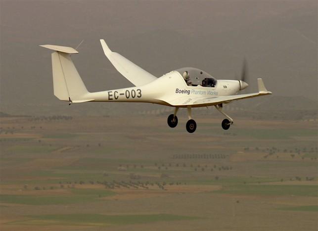 Boeing/Espagne : le vol d'un aéronef équipé de piles à combustible !