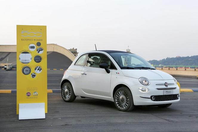 Mopar présente ses accessoires destinés à la Fiat 500
