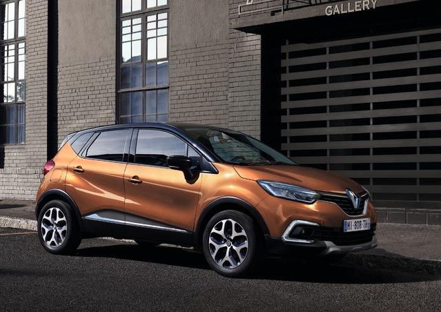 Renault Captur restylé: à partir de 17100€