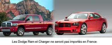 Retour de Dodge en Europe : la charge du bélier