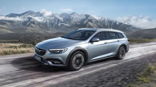 Nouvelle Opel Insignia Country Tourer: la clé des champs