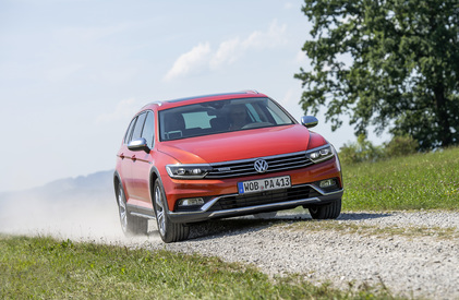 La Volkswagen Passat Alltrack.