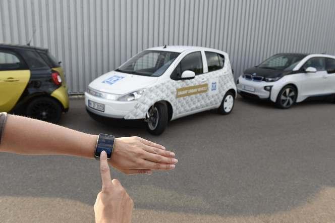 ZF présente son Smart Urban Vehicle