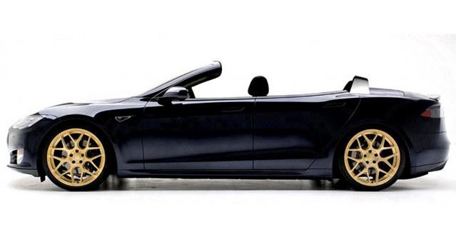 NCE dévoile la Tesla Model S cabriolet