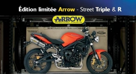 Opération Arrow pour la Street Triple et la Street Triple R