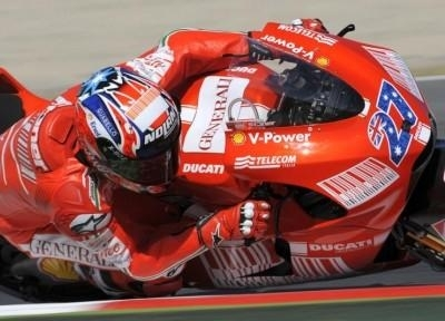 Moto GP - Ducati: Stoner est arrivé en Europe
