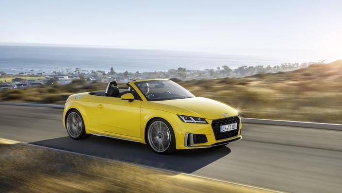 Audi TT restylé: prix à partir de 41200€