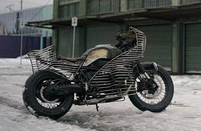 Concept – BMW: la NineT El Impostor dans les détails
