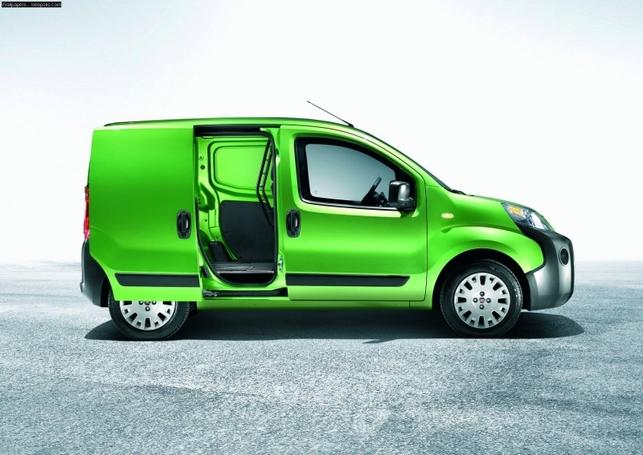 Le Fiat Fiorino électrique commercialisé fin 2008 en France