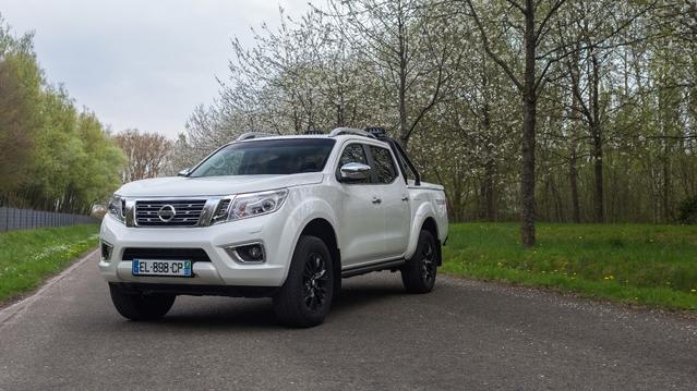 Nissan Navara: nouvelle série limitée Trek-1°