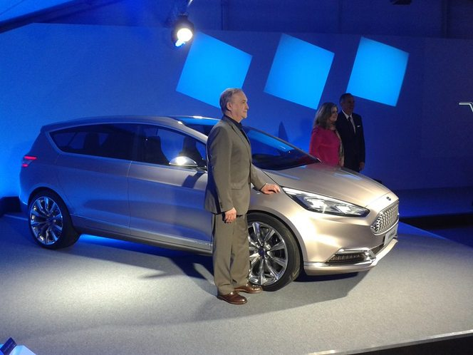 Exclusivité Caradisiac - Ford S-Max Vignale Concept : les photos en direct de sa présentation en première mondiale
