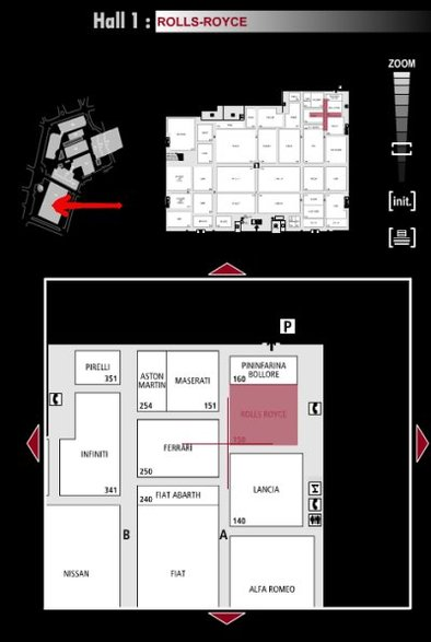 Guide des stands : Rolls-Royce - Hall 1
