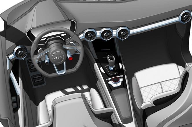 Pékin 2014 - Audi Q4 Concept: teasing avancé