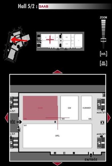 Guide des stands : Saab - Hall 5/2