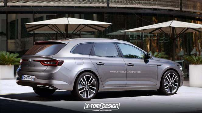 Futur break Renault Talisman : comme ça ?