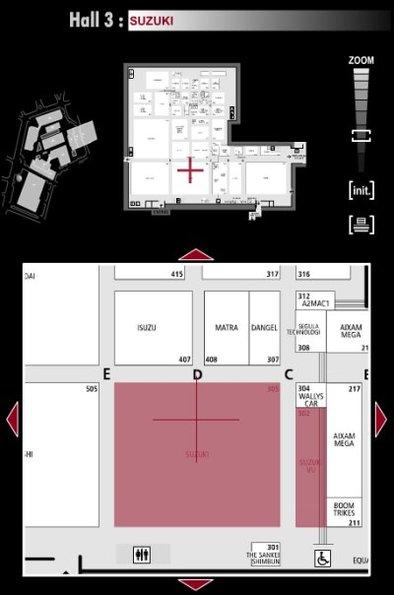 Guide des stands : Suzuki - Hall 3