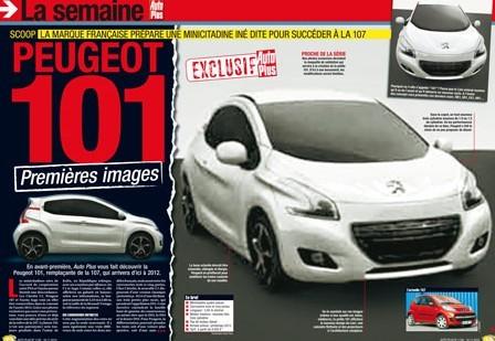 Futures Citroën C1 / Peugeot 108 : torturées