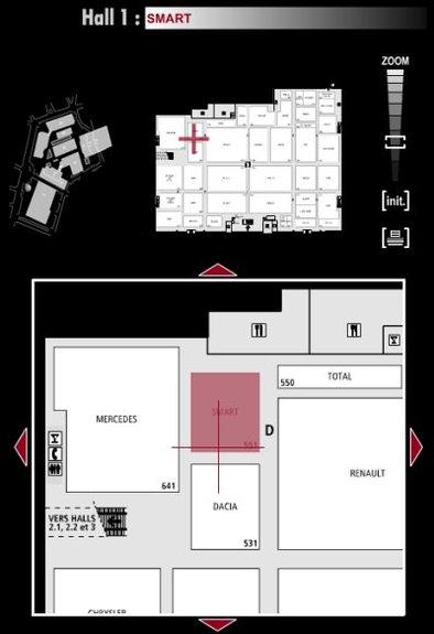 Guide des stands : Smart - Hall 1