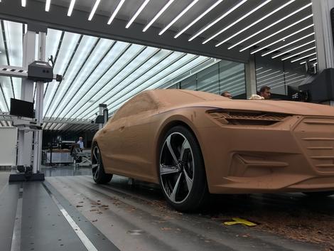Audi A7 Sportback : flèche d'argent - Vidéo en direct du Salon de Genève 2018