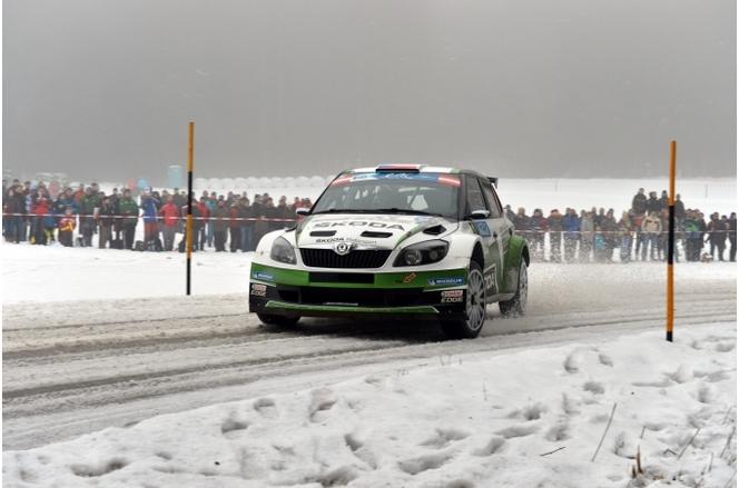 FIA ERC Jänner Rally : Kopecky bat Bouffier sur le fil (très fin)