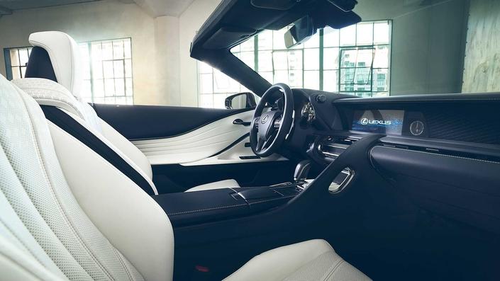 Salon de Detroit 2019 : Lexus dévoile une LC cabriolet en concept