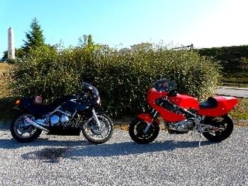 SALON DE LA MOTO: LIMOGES: EXPO DE MOTOS DE COMPETITION LES 27/28 MARS 2010.