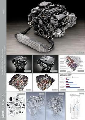 Mercedes : nouvelle génération de moteurs 4 cylindres Diesel pour réduire consommation et pollution