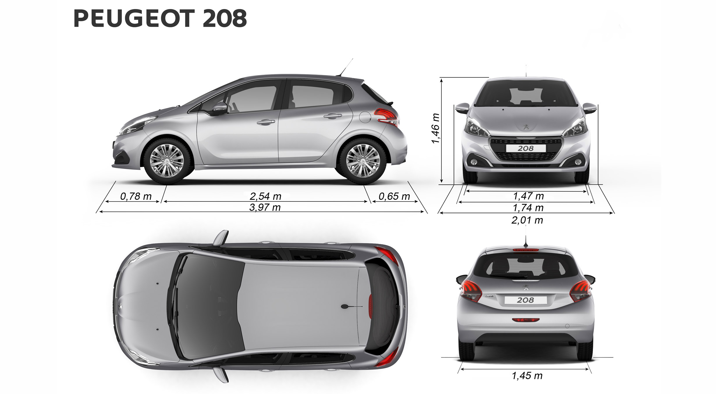 Quelle peugeot 208 restyl e choisir for Quelle camera ip choisir