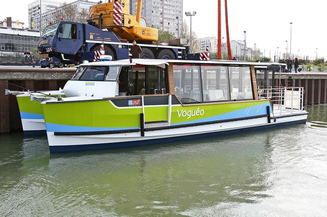 Paris : Voguéo, la navette fluviale de Gare d'Austerlitz à l'Ecole vétérinaire de Maison Alfort