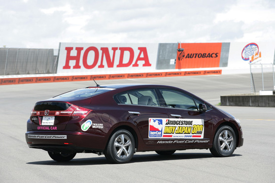 Indy Japan 2008 : Honda FCX Clarity Fuel Cell Pace Car