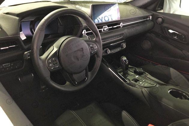 Toyota Supra 2019: une photo de l'intérieur