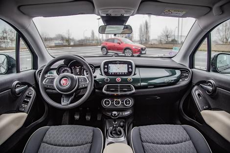 Comparatif - Fiat 500X vs Mazda CX-3: la conquête des challengers