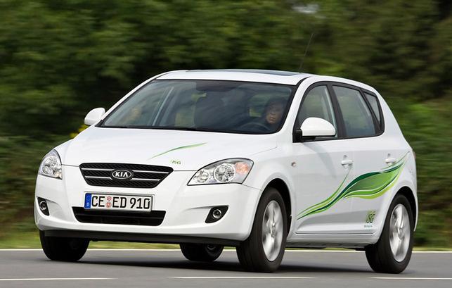 Une Kia Cee'd dotée de la technologie Start/Stop de Bosch