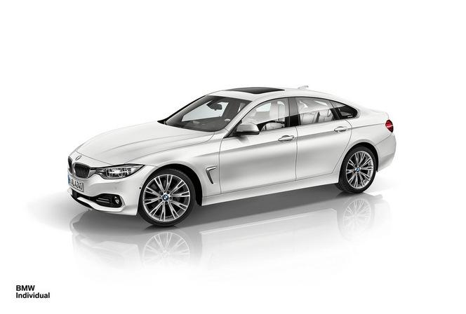BMW Individual habille la Série 4 Gran Coupé