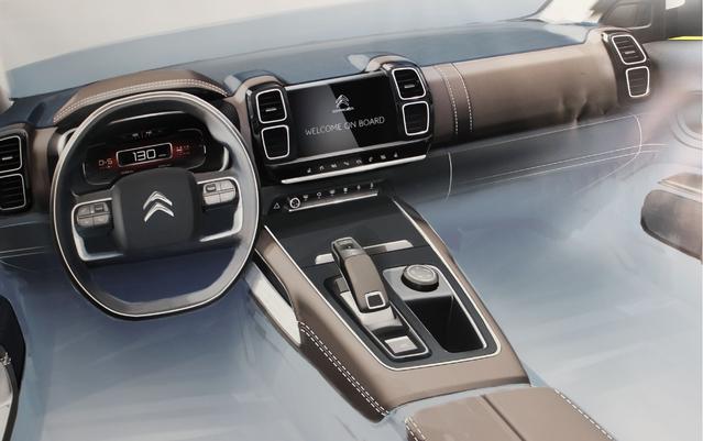 Une planche de bord inédite que l'on devrait retrouver sur les autres SUV de Citroën
