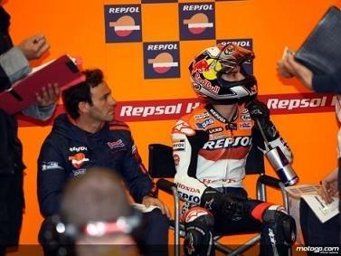 Moto GP - Catalogne D.1: Pedrosa toujours, Lorenzo encore à terre