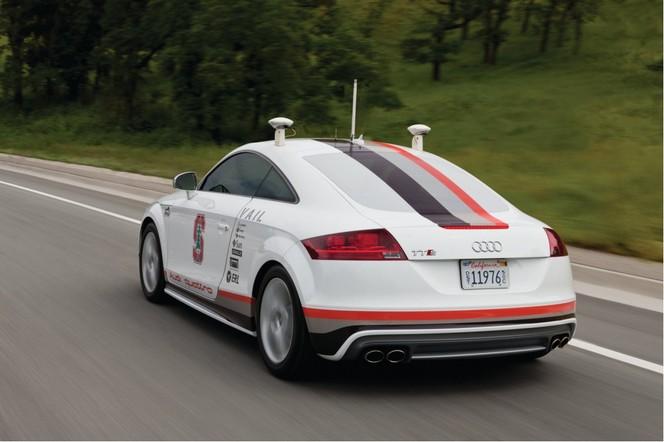 Voitures sans conducteur : Audi obtient une autorisation de circuler