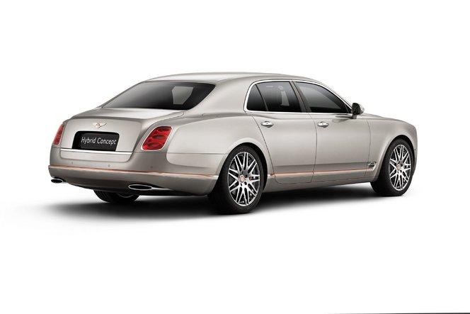 Pékin 2014 - Bentley se jette dans l'arène aux hybrides avec l'Hybrid Concept