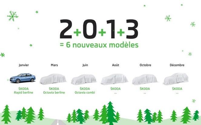 Skoda France annonce 6 nouveautés en 2013