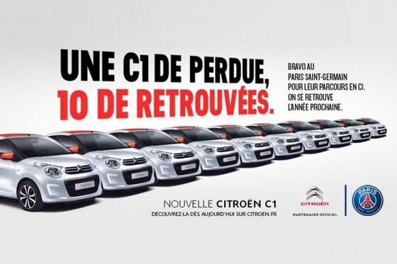 Citroën: 1 C1 de perdue 10 retrouvées!