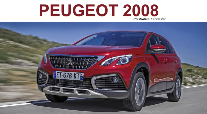 futur suv peugeot 2008 il arrive en 2019. Black Bedroom Furniture Sets. Home Design Ideas